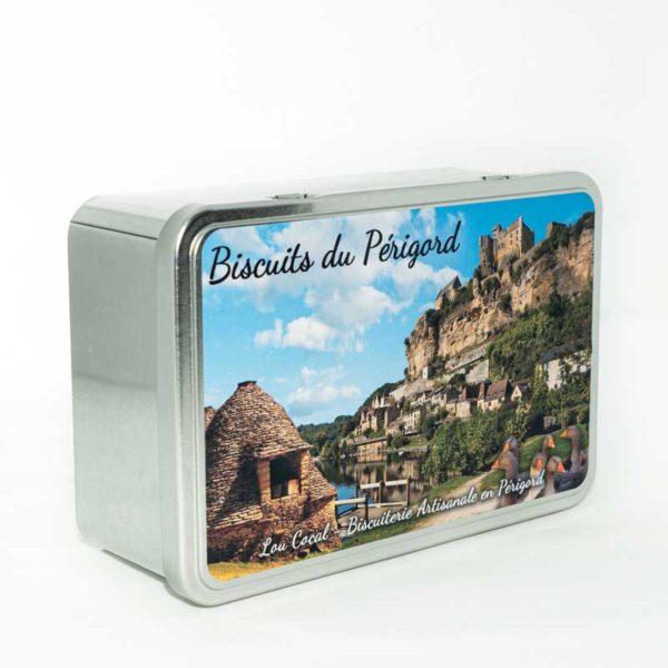 Loucocal biscuiterie Sarlat - biscuit - boîte à biscuits du Périgord