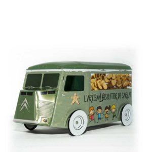Loucocal biscuiterie Sarlat - biscuit - camion garni aux noix du Périgord