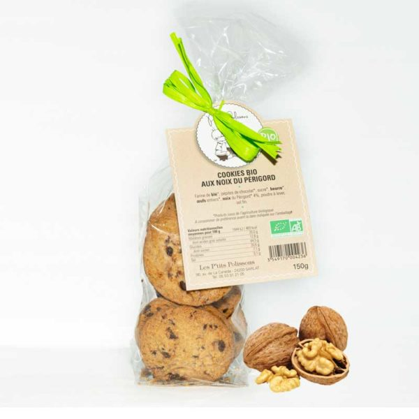 Loucocal biscuiterie Sarlat - biscuit - cookies bio aux noix du périgord