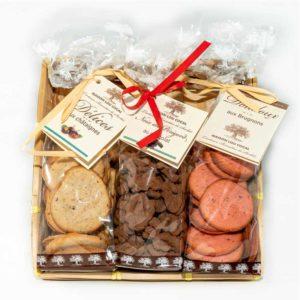 Loucocal biscuiterie Sarlat - biscuit - panier délices aux noix du Périgord