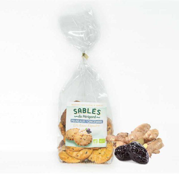 Loucocal biscuiterie Sarlat - biscuit - sablés du périgord pruneux / gimgembre