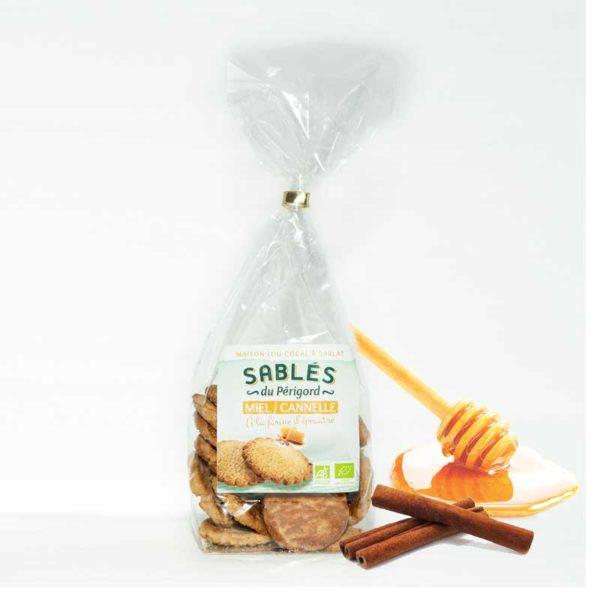Loucocal biscuiterie Sarlat - biscuit - sablés du p&rigord miel/ cannelle