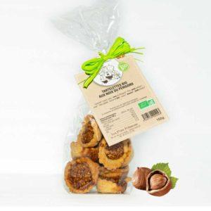 Loucocal biscuiterie Sarlat - biscuit -Tartelettes BIO aux noix du Périgord