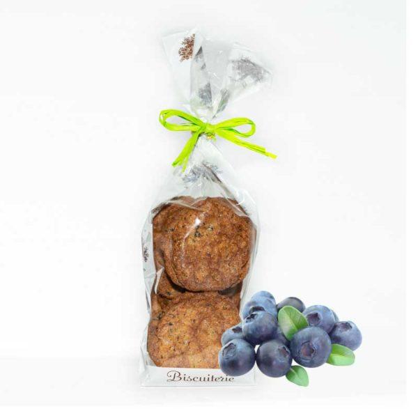 Loucocal biscuiterie Sarlat - biscuit - croquants aux myrtilles