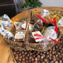 Loucocal biscuiterie Sarlat - biscuit - panier garni aux noix du Périgord
