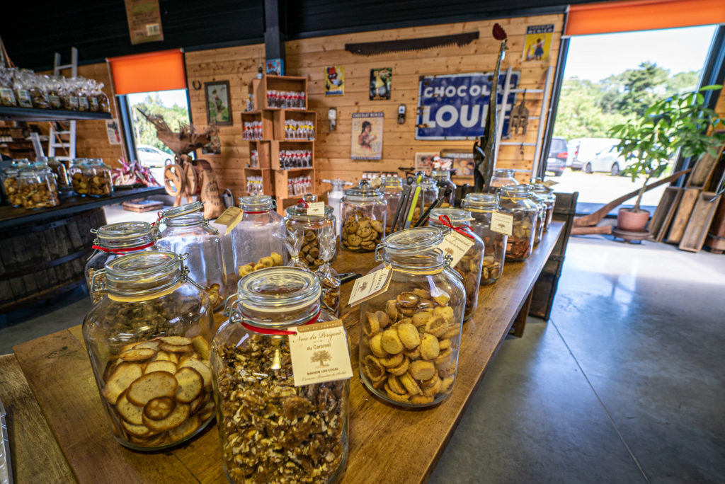 Loucocal biscuiterie Sarlat - boutique