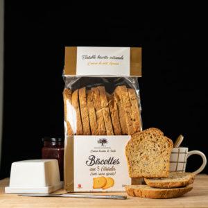 Loucocal biscuiterie Sarlat - biscottes - biscottes aux Céréales (sans sucre ajouté)