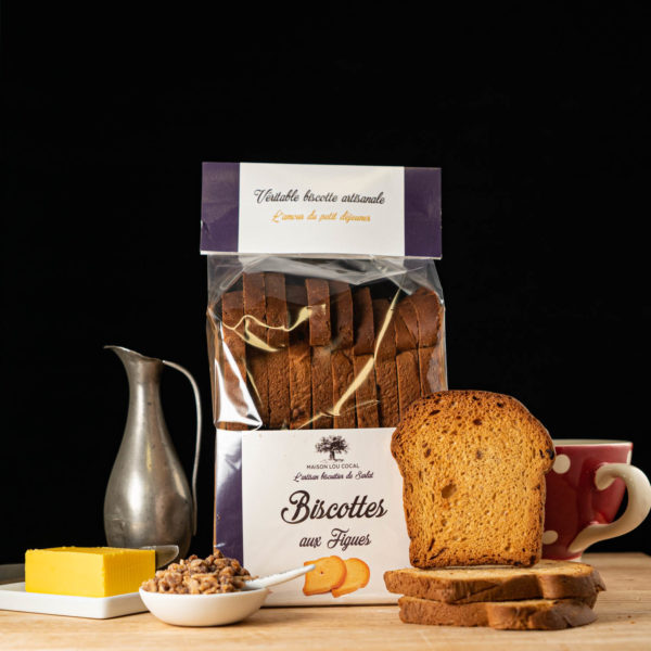 Loucocal biscuiterie Sarlat - biscottes - biscottes aux figues