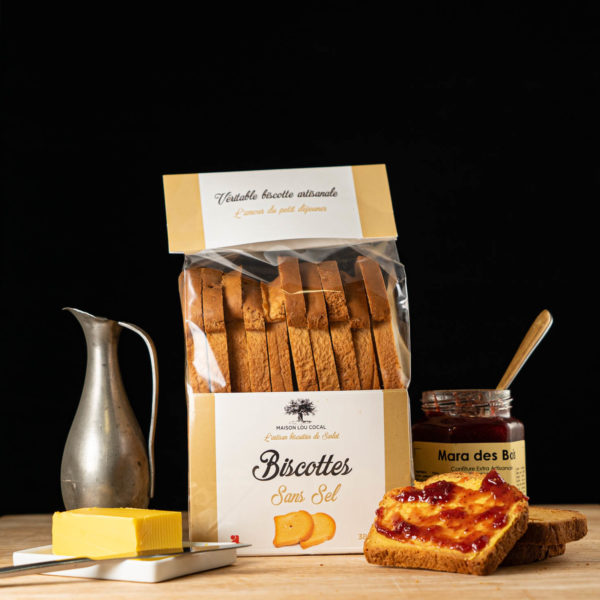 Loucocal biscuiterie Sarlat - biscottes - biscottes sans sel