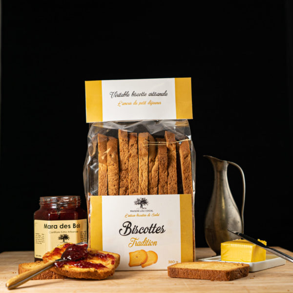 Loucocal biscuiterie Sarlat - biscottes - biscottes tradition