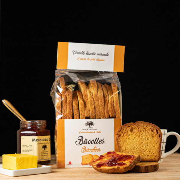 Loucocal biscuiterie Sarlat - biscottes - biscottes briochées